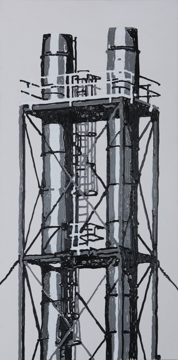 Power Lines, Adrian, MI